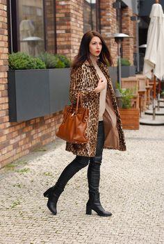 25 Fierce Ways to Style a Leopard Coat | StyleCaster