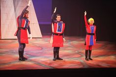 Duloc Dancers!! Salina Community Theatre's Shrek The Musical Costumes by Jenn Morris Contact:NipperAnne@gmail.com for rental information