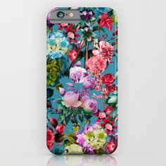 Check out society6curated.com for more! @society6 #floral #flowers #pattern #phone #case #phonecase #accessory #accessories #fashion #style #buy #shop #sale #cool #sweet #rad #awesome #fun #beautiful #beauty #pretty #botanical #iphone #products #product  #botanical #red #pink #blue #green