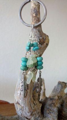 #oorbellen #sieraden #handgemaakt #handmade #earrings #jewelry #ibiza #ibizastyle #boho #halfedelsteen #gemstone #turquoise #jade #veer #feather www.facebook.nl/kikakoscreaties