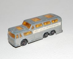 Vintage Lesney Matchbox Greyhound Bus for sale by MadeFoundCollected on Etsy, $8.99