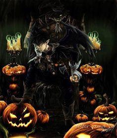 Anime Halloween, Retro Halloween, Halloween Kunst, Halloween Artwork, Halloween Ii, Halloween Items, Halloween Pictures, Halloween Ghosts, Halloween Horror
