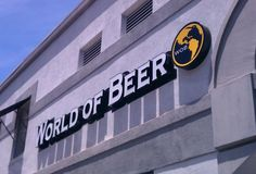 World of Beer, Mill Ave, Tempe, Arizona