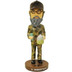 "Amazon.com: 7"" Si Robertson Bobble Head Doll - As Seen on Duck Dynasty: Sports & Outdoors"