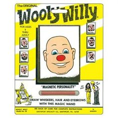 Wooly Willy entertained me for a couple minutes or so :)