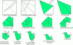 how to make origami duck step by step Diy Origami, Origami Duck, How To Do Origami, Origami Letter, Origami Mobile, Origami Boat, Origami Paper, Origami Bookmark, Oragami