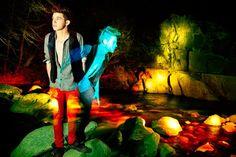 New Light Painting shoot