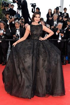 Sonam Kapoor at the Homesman premiere at the Cannes Film Festival | PINKVILLA