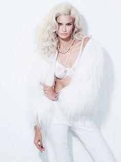 Carol-Ribeiro by Jacques-Dequeker for OF Magazine 2013  white fur