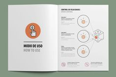 Instruction manual for a household electric appliance company. Co Design, Print Design, Branding Design, Graphic Design, Promo Flyer, Technical Illustration, Booklet Design, Instructional Design, Print Layout