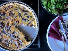 THE STEPFORD HUSBAND: Goldig: Rote Zwiebel Quiche