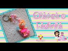(DIY) BISCUIT Chaveiro: Fadinha