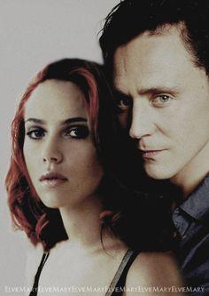 Loki and Natasha. I've shipped this.