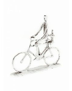 Escultura Mov Bicicleta - #Swarovski #cristais #aluminio #decoracao #bicicleta