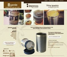 Impress Coffee Brewer by in-house brand, Gamila. Brand creation, product and market strategy, identity, web and ecommerce, print promotion, kickstarter campaign, strategic messaging, product design and development, manufacturing and quality testing, retail and online sales and fulfillment all by Designbox. #designboxproduct #designboxbrand #designboxtech #designboxweb #designboxprint www.gamilacompany.com