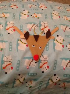 Reindeer Christmas Craft - Simple and Easy - Perfect for toddlers