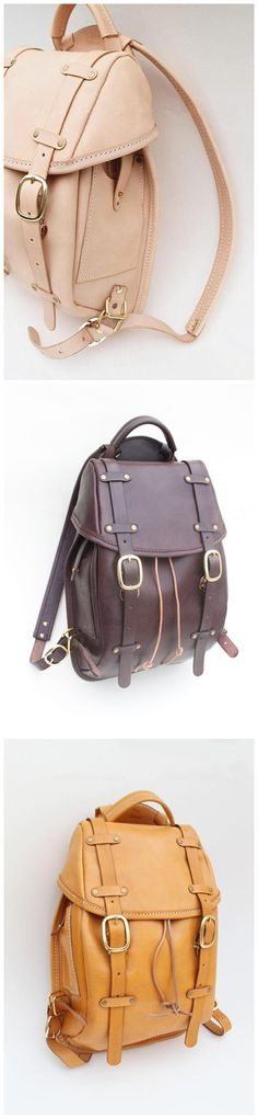 Handmade Retro Vintage Backpack by QQBoutique on Etsy