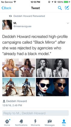 "Ridiculous that there's a quota for models of color in instead of the mindset of, ""is this woman beautiful, unique, and talented enough to sell products to our audiences? Black Power, Black Girls Rock, Black Girl Magic, Intersectional Feminism, My Black Is Beautiful, Funny, Equal Rights, My Guy, Black People"