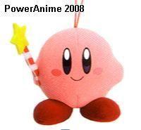 Kirby Mini Plush Phone Strap Mascot - Wand Kirby