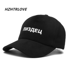 High Quality Brand Russian Letter Snapback Cap Cotton Baseball Cap For Men Women Hip Hop Dad Hat Bone Garros  Price: 6.01 USD