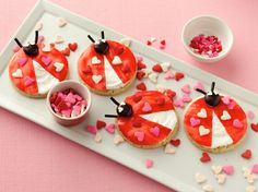 Ladybug Cookies SO cute! #valentinesday