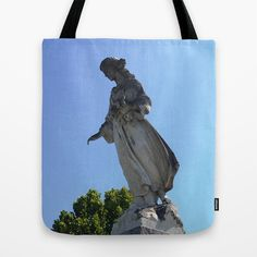 New Orleans Cemetery Angel Tote Bag Society6