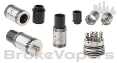 The Mutilator RDA looks to be another cloud blowing RDA based on ALL THOSE AIR HOLES! This thing has 18 air holes in total. Each side has one larger air hole surrounded by eight smaller air holes in the shape of an X. I'm sure this gives some kind of crazy vortex inside the device. It has a wi…