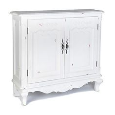 Felicity Antique White Cabinet #Kirklands #PinitPretty