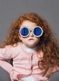 Image from the Forever Summer 2013 campaign by Karen Walker Eyewear. Photo  by Derek Henderson.