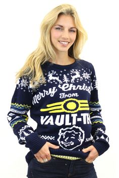 Amazon.com: Official Fallout 4 Christmas Sweater: Clothing