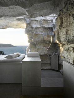 Stone Cave House by Ensamble Studio
