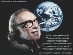 "Isaac Asimov ""Koniec wieczności"""