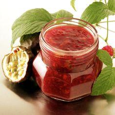 Hindbærsyltetøj med passionsfrugt - Opskrifter