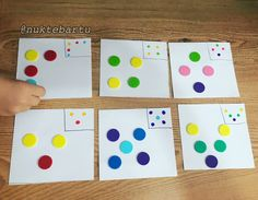 Montessori inspired activity for toddlers and preschoolers kidsactivities - Preschool Learning Activities, Infant Activities, Toddler Preschool, Preschool Activities, Kids Learning, Activities For Kids, Crafts For Kids, Montessori Materials, Math For Kids