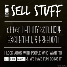 Get paid to wash your face and talk about it.  Rodan + Fields is an amazing opportunity.  No inventory or parties required.  Message me on Pinterest @ R+Fskincare101.