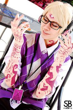 Yeah except you can't touch your arms on anything if I ever cosplay Cecil (or anyone else with arm tattoos) I'm going to get some skin toned pantyhose and make my own tattoo sleeves