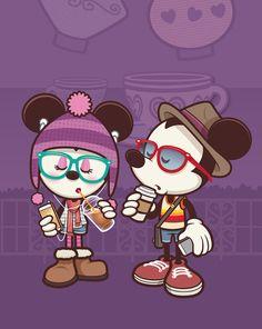 mickey mouse hipster - Buscar con Google