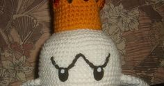 August 20, 2009 King Boo was a request by my girls. I made him on a whim really, watching a movie with the kids. He looks a bit ragg...