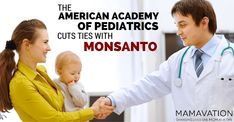 Kudos to the American Academy of Pediatrics for severing ties with Monsanto and Coca Cola. We must protect our children and communities.