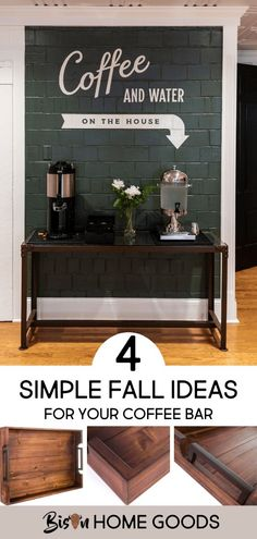 As the weather turns cooler, hot beverages increasingly become a favorite. Plus, regular coffee drinkers often appreciate a chance to make their daily ritual festive, adding seasonal flair to their favorite drinks.Setting your coffee bar up for fall doesn't have to be a challenge. Here are simple fall ideas to get you started. #coffee #coffeebar #fall #fallideas Home Decor Bedroom, Living Room Decor, Budget, Coffee Drinkers, Beverages, Drinks, Home Decor Styles, Bohemian Decor, Vintage Home Decor