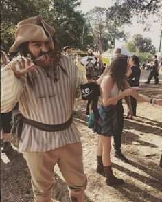 Check out Dori Pole in the background! Renaissance Fair in Deerfield Florida!
