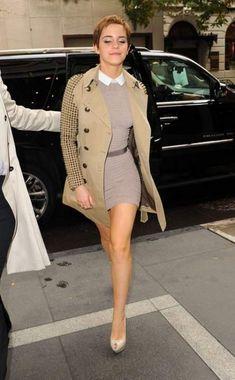 Emma Watson Classy chic looks Emma Watson Legs, Emma Watson Sexiest, Emma Watson Beautiful, Emma Watson Pixie, Vestidos Emma Watson, Emma Watson Estilo, Ema Watson, Look Fashion, Womens Fashion