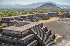Pirámides de #Teotihuacan. Soñando con otros lugares: los 101 monumentos más famosos del mundo #viajes #travel
