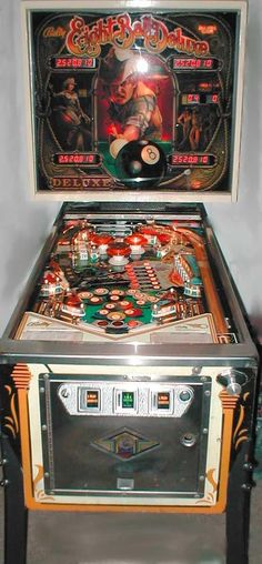 """Bally's """"Eight Ball Deluxe""""...quit talking and start chalking!!"""