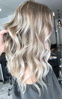 Beige blonde tones Hair colour Long hair Brunette tones Cool ash blonde