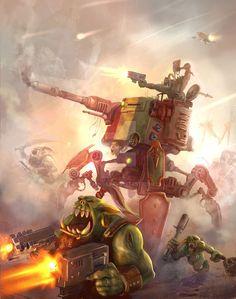 Warhammer 40000,warhammer40000, warhammer40k, warhammer 40k, ваха, сорокотысячник,фэндомы,Orks,looted