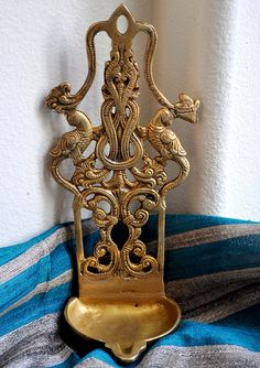Hanging Brass Diya / Shop At My Dream Canvas: shopatmydreamcanvas.bigcartel.com
