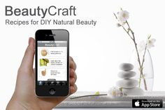 BeautyCraft app is the DIY Natural Beauty app for iPhone. This illustrated app contains dozens and dozens of recipes, ranging from foot scrubs to facial steams to bath bombs. Each recipe comes with its own recipe card which walks you through the stages step-by-step. The app also contains a detailed A-to-Z of 50 beauty ingredients. BeautyCraft has been downloaded in over 50 countries worldwide. Come and get your copy today at http://www.herbhedgerow.co.uk/app or…