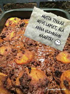 Bataattijauhisvuoka | Liha, Arjen nopeat | Soppa365 Easy Cooking, Cooking Recipes, Healthy Recipes, How To Eat Better, Fodmap Recipes, Keto, Main Meals, Food Inspiration, Love Food