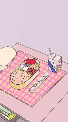 Wallpapers Tumblr, Cute Cartoon Wallpapers, Animes Wallpapers, Pretty Wallpapers, Cute Anime Wallpaper, Iphone Background Wallpaper, Locked Wallpaper, Aztec Wallpaper, Pink Wallpaper